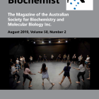 The August 2019 Australian Biochemist magazine is now online